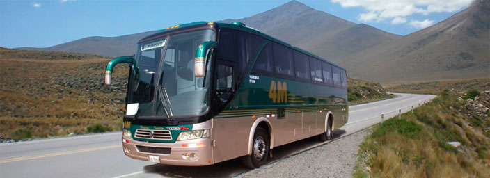 Bus Tickets Arequipa to Colca