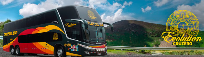 Travel by Bus in Peru
