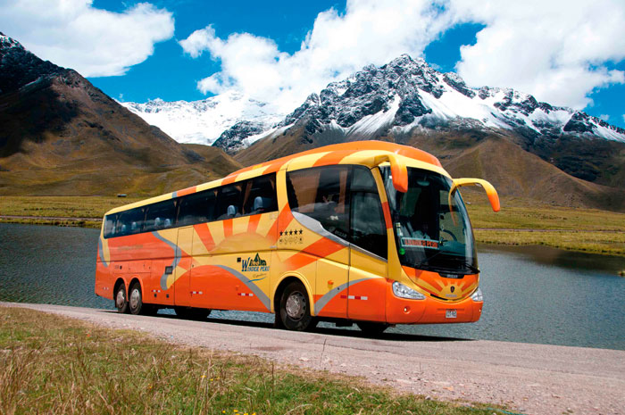 Bus Cusco a Puno