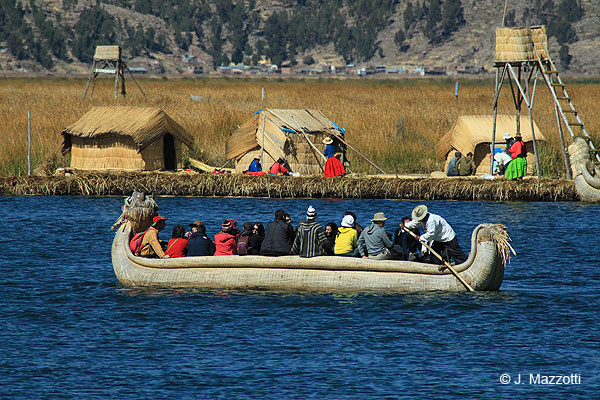 Lake Titicaca - Floating islands of the Uros